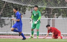 """Thủ môn U22 Việt Nam mắc sai lầm, fan kêu trời: Bóng đá Việt Nam chỉ """"toang"""" vì thủ môn"""