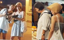 """Lộ ảnh hiếm Song Hye Kyo """"hẹn hò"""" ở chợ Cannes hậu ly hôn: Mặt mộc khiến du khách tại Pháp phải mê, biểu cảm gây chú ý"""