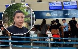 Chính thức đình chỉ công tác 30 ngày với nữ công an Hà Nội mắng chửi nhân viên sân bay Tân Sơn Nhất