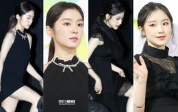 """Lần đầu tiên """"nữ thần đẹp nhất nhà SM"""" Irene bị lép vế trước một mỹ nhân, so sánh góc nghiêng đúng là cực phẩm"""
