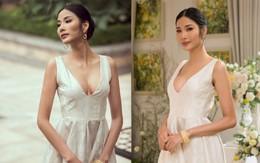 Lộ diện với vòng một căng tròn, netizen nghi Hoàng Thùy can thiệp dao kéo trước ngày đến Miss Universe 2019