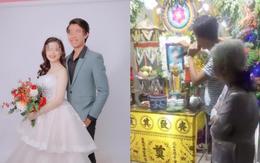 Hôn lễ hóa đám tang vì cô dâu tử nạn trước ngày cưới: Chú rể trao nhẫn, nghẹn ngào hát bên linh cữu vợ khiến nhiều người rơi lệ