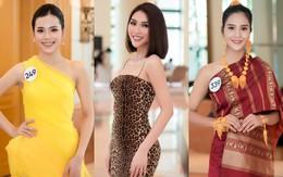 """Hoa hậu Hoàn vũ Việt Nam """"đổ bộ"""" miền Bắc: Tường Linh khoe vòng eo 53, mỹ nhân người dân tộc thiểu số gây chú ý"""
