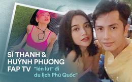 Trước khi công khai hẹn hò, Sĩ Thanh và Huỳnh Phương Fap TV đã có chuyến du lịch đến Phú Quốc lãng mạn như thế này đây!