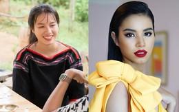 """H'Luăi Hwing: Cô bé Ê-đê 18 tuổi được H'Hen Niê chiêu mộ đi thi Hoa hậu lột xác thành """"bản sao Phạm Hương"""""""