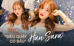 """""""Siêu Quậy Có Bầu"""" Han Sara: Một số người không ủng hộ em vì em là người Hàn, biết sao giờ, em chỉ biết im lặng cố gắng"""