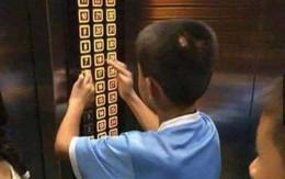 Cậu bé nghịch ngợm ấn đồng loạt các tầng thang máy, hành động sau đó của phụ huynh khiến dân mạng tán thưởng không ngớt
