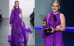 Chọn đầm tím lịm của Công Trí dự Emmy 2019, nữ diễn viên người Mỹ giành luôn giải thưởng cao quý nhất