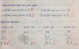 """Bất ngờ vì thầy giáo gạch kết quả đúng của học sinh, cha mẹ đồng loạt phản ứng """"thầy nên học lại bài"""""""