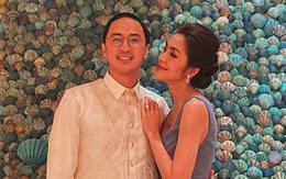 """Hà Tăng khoe sắc bên Louis Nguyễn trong tiệc cưới """"gia đình triệu đô"""", thân hình gầy gò của ngọc nữ gây chú ý lớn"""