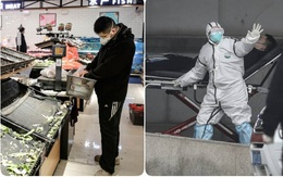 """""""Tận thế tại Vũ Hán"""": Hàng hóa tan hoang, đường phố vắng lặng, 25 người đã chết vì virus"""
