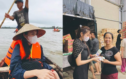 """Công chúng bức xúc khi Thuỷ Tiên bị 1 netizen mỉa mai, """"bóc giá"""" kém duyên đồ mặc khi đi cứu trợ miền Trung"""