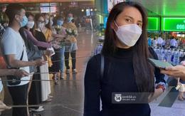 Thuỷ Tiên đã đáp chuyến bay về TP.HCM chiều nay sau 6 ngày cứu trợ, fan chờ đón từ sớm tại sân bay