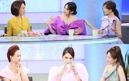Netizen tranh cãi tố Hương Giang liên tục mặc lố trên sóng truyền hình, chiếm luôn spotlight của Hari Won và tiền bối