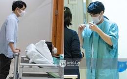 Độc quyền: Đông Nhi đã vào phòng sinh, Ông Cao Thắng túc trực từ 3h sáng cùng vợ chờ đón con gái đầu lòng