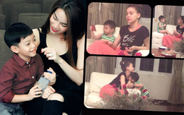 Giữa lúc mang song thai, Hà Hồ liên tục có động thái đáng chú ý với quý tử Subeo: Nhìn 2 mẹ con cũng thấy hạnh phúc lây!