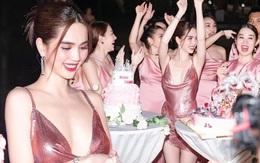 """Ngọc Trinh tung loạt ảnh """"căng đét"""" trong tiệc sinh nhật: Nguyên team đi ra hết để nữ hoàng nội y chiếm trọn spotlight!"""