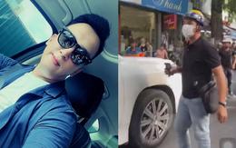 """Chàng trai chạy xe ôm chiếm trọn spotlight trong clip đánh ghen trên phố Lý Nam Đế: """"Chị vợ nhờ mình vượt lên chặn đầu xe LX 570 và quay lại sự việc"""""""