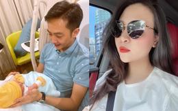 """Cường Đô La đăng ảnh than phải chăm con cho vợ lái siêu xe đi chơi, Đàm Thu Trang tung luôn bằng chứng """"tố ngược"""" đâu kém"""