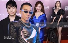 """Karik, Wowy và team Rap Việt chiếm spotlight """"cực mạnh"""", chưa bằng Á hậu Phương Nga dắt... """"cún cưng"""" lên thảm đỏ AVIFW ngày 2"""