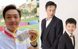 """Cường Đô La đi họp phụ huynh cho Subeo, nhìn tấm thẻ đeo trên cổ mà muốn """"ngất xỉu"""" vì độ giàu có"""