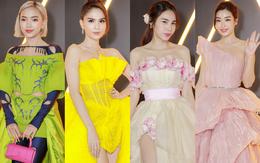 Siêu thảm đỏ WeChoice Awards 2020: Ngọc Trinh lộng lẫy phủ vàng cả sự kiện, Châu Bùi lên đồ cực lạ bên dàn Hoa, Á hậu đình đám