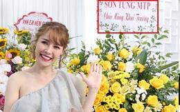 """Netizen soi bằng chứng Quế Vân thật sự đã đặt lẵng hoa có tên Sơn Tùng, khớp với chi tiết """"cho oai"""" và thời điểm trong tin nhắn"""