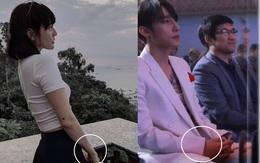 """""""Thánh soi"""" phát hiện Sơn Tùng tháo đồng hồ đôi với Thiều Bảo Trâm, thay thế bằng vòng đôi với Hải Tú tại sự kiện?"""