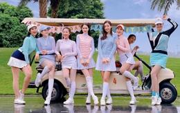 """Chỉ đợi Hương Giang """"comeback"""", quân đoàn Hoa hậu tung ngay loạt ảnh trên sân golf, tổ hợp visual choáng ngợp nức lòng người"""