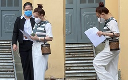 Vy Oanh chia sẻ sau khi nộp đơn khởi tố bà Phương Hằng, thông báo tin vui trong tiến trình của vụ kiện