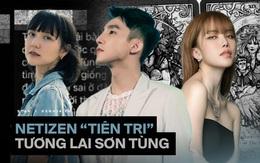 """Giật mình """"lời tiên tri"""" của dân mạng về drama Sơn Tùng - Hải Tú - Thiều Bảo Trâm, giờ mới thấy khớp 80% hiện tại"""