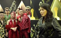"""Thảm đỏ Rap Việt Concert: Dế Choắt và dàn sao Vbiz đổ bộ, Lý Nhã Kỳ chuẩn đẳng cấp """"chị đẹp"""" sành điệu!"""