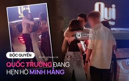 ĐỘC QUYỀN: Bắt gặp Quốc Trường và Minh Hằng hẹn hò trong tiệc sinh nhật, ôm hôn công khai đến kéo nhau ra riêng 1 góc