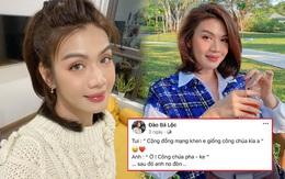 """Đào Bá Lộc khoe được netizen khen xinh như công chúa, bạn trai phán ngay công chúa """"pha-ke"""" và cái kết """"no đòn"""""""