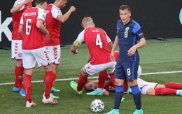 Sốc: Ngôi sao tuyển Đan Mạch đổ gục ngay trên sân đấu Euro, cả khán đài chết lặng, chìm trong nước mắt