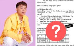 Xôn xao bản hợp đồng tiết lộ mức cát xê của Hồ Văn Cường, con số thực sự khiến netizen ngỡ ngàng