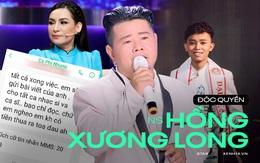 Độc quyền: Nhạc sĩ Chim Trắng Mồ Côi tung tin nhắn chứng minh bị Phi Nhung uy hiếp, kể ngọn nguồn và lời xin lỗi bất ngờ sau đó