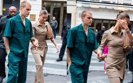 Vợ chồng Justin Bieber lại gây tranh cãi ở Pháp ngày 3: Hailey kín đáo nhưng lộ điểm nhạy cảm, quay ra ông xã tưởng... bảo vệ