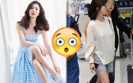 """Bóc mẽ Song Hye Kyo: Ảnh thời trang khác hẳn đời thực với chiều cao gây lú, nhìn đôi chân mà """"haizzz"""""""