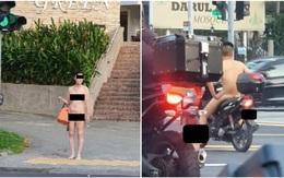 Liên tục xuất hiện nam thanh nữ tú trần như nhộng trên đường phố Singapore trong thời gian giãn cách