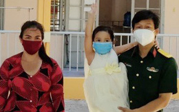 Đưa tro cốt người phụ nữ tử vong vì Covid-19 về nhà, thiếu tá Nguyễn Trung Kiên chỉ thấy bé 4 tuổi ra nhận!