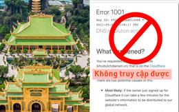 """SỐC: Website của Đại Nam không truy cập được, tâm huyết cả đời của ông Dũng """"lò vôi"""" bay màu sạch sẽ khỏi Google?"""