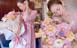 Lệ Quyên để lộ vòng 2 lớn lùm lùm chỉ qua 1 góc ảnh, rộ nghi vấn mang thai với Lâm Bảo Châu?