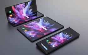 """Smartphone màn hình gập của Samsung sẽ trông """"ảo tung chảo"""" đến thế này sao?"""