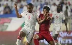 Vùi dập Indonesia, UAE vươn lên dẫn đầu bảng đấu của Việt Nam ở vòng loại World Cup 2022