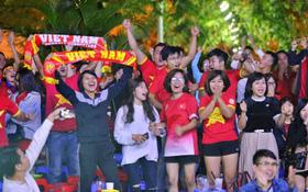 Trận đấu kết thúc với tỷ số 3-1 nghiêng về ĐT Việt Nam, hàng triệu CĐV vỡ òa trong niềm vui chiến thắng