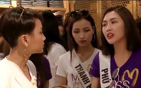 """""""Hoa hậu Hoàn vũ"""" drama không kém gì """"Next Top Model"""": Thí sinh hết giành giày lại to tiếng với nhau"""