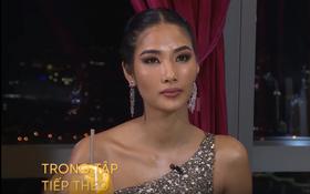 """Trở lại """"Hoa hậu Hoàn vũ Việt Nam"""", Hoàng Thùy lại dùng ca dao tục ngữ nhưng hình như bị sai?"""