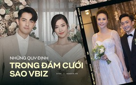 Loạt quy định trong đám cưới sao Vbiz: Đông Nhi gắt gao về khách vào tiệc, Cường Đô La làm dấy lên tranh cãi