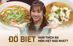 Nói tiếng Việt có thể đôi khi chưa rõ nhưng Hari Won lại rất am hiểu ẩm thực Việt, từ ngày cưới Trấn Thành còn thường xuyên đi review ăn uống như ai